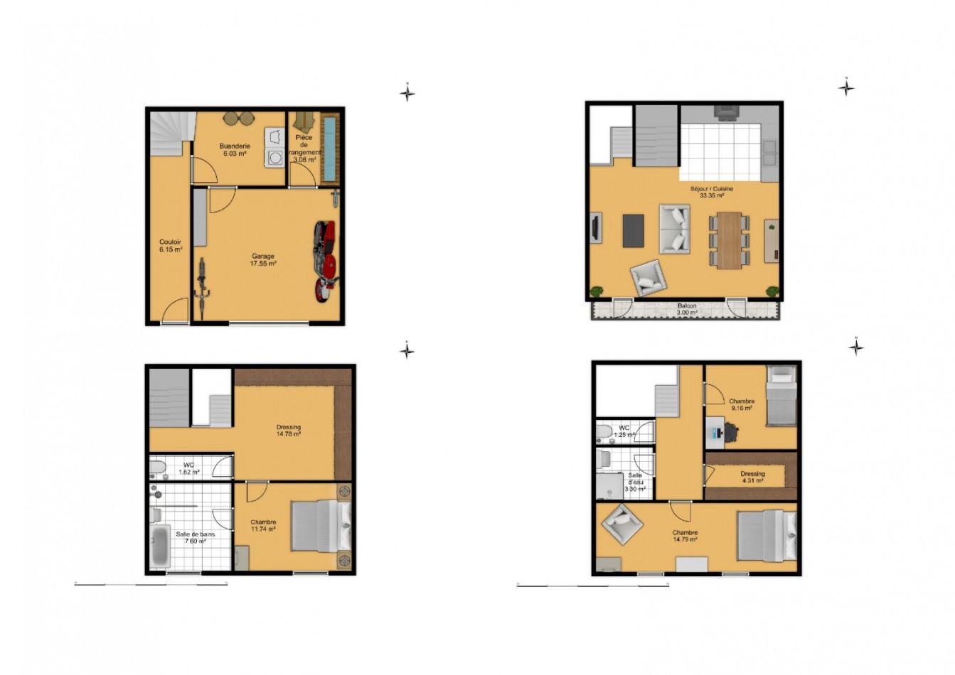 A vendre  Puisserguier   Réf 343901647 - G&c immobilier