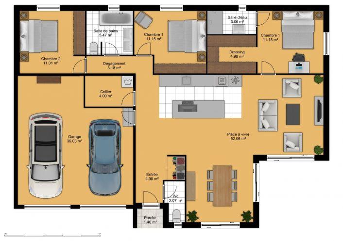 For sale Villa Thezan Les Beziers | Réf 343901688 - Comptoir de l'immobilier
