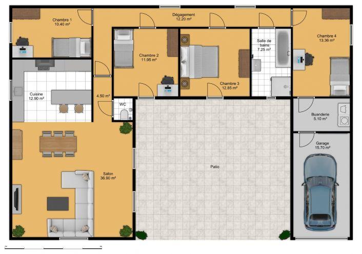 For sale Villa Cazedarnes   Réf 343901728 - Comptoir de l'immobilier