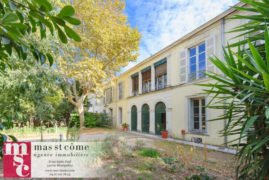 A vendre Montpellier 343911000 Msc immobilier