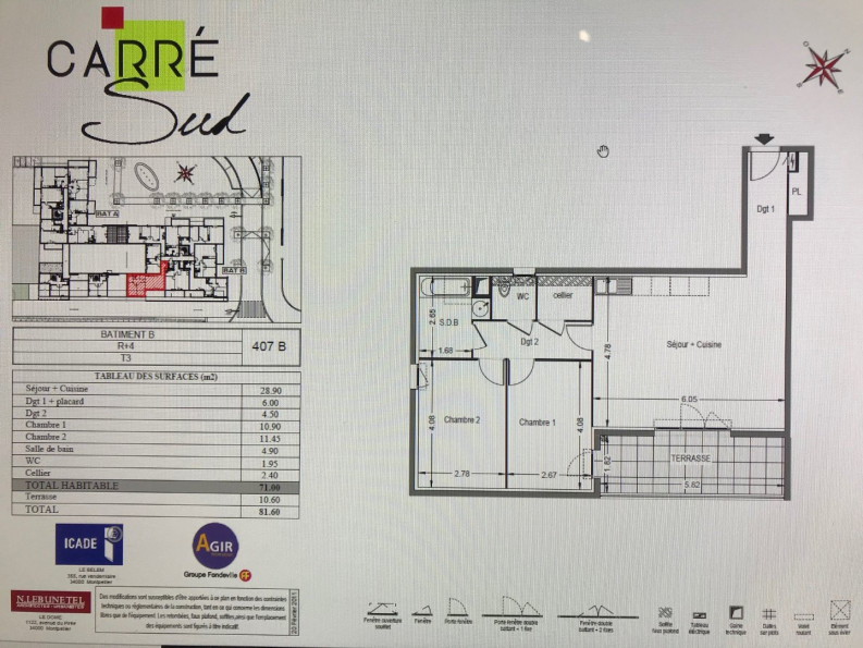 A louer Montpellier 343911366 Msc immobilier
