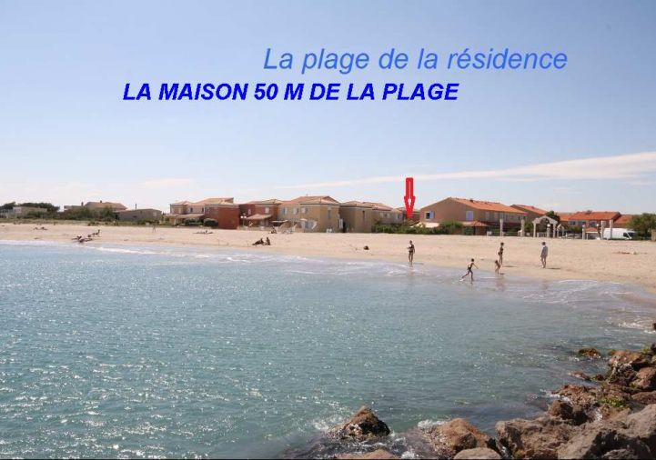 En location saisonni�re Frontignan 34396185 Bord de mer immobilier
