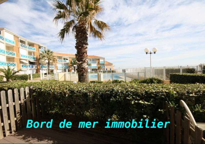 En location saisonni�re Frontignan 34396234 Bord de mer immobilier