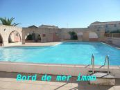 En location saisonni�re Frontignan 34396245 Bord de mer immobilier
