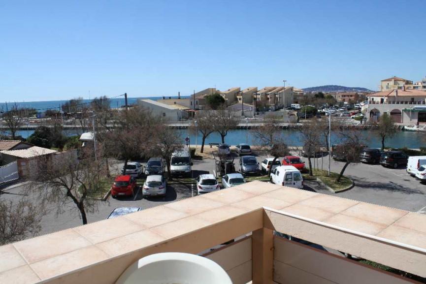 En location saisonnière Frontignan 34396322 Bord de mer immobilier