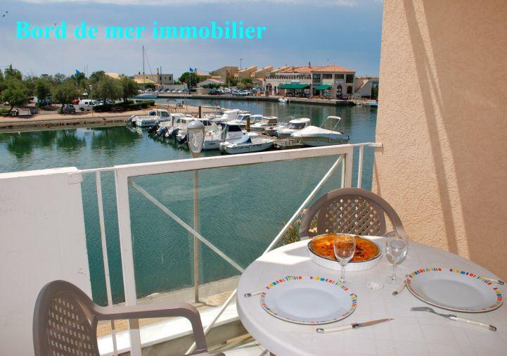 A vendre Appartement en marina Frontignan | R�f 34396623 - Bord de mer immobilier