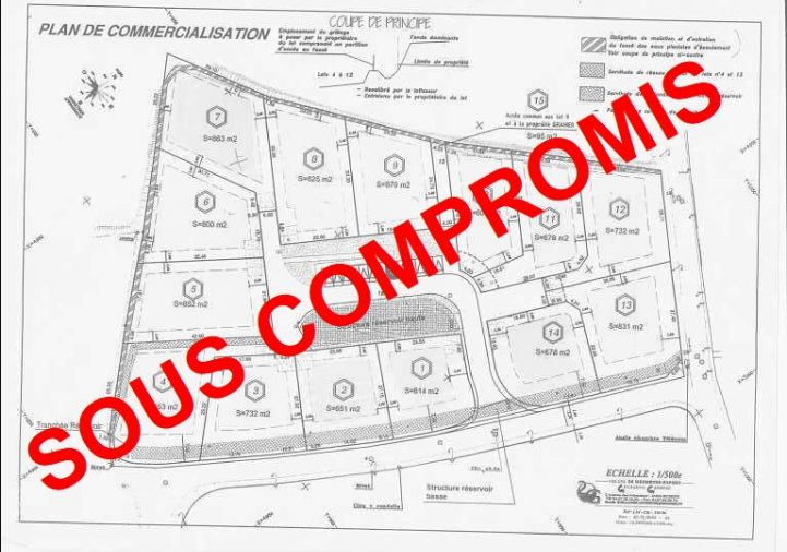 A vendre Terrain constructible Magalas   R�f 34442279 - Le boulevard de l'immobilier