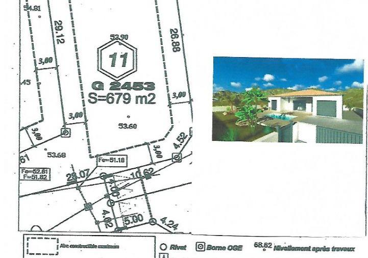 A vendre Terrain constructible Magalas | R�f 34442281 - Le boulevard de l'immobilier