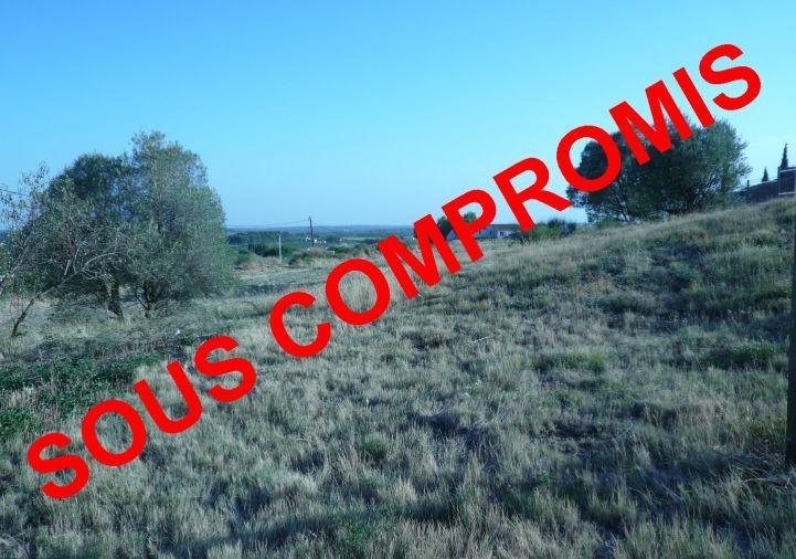 A vendre Terrain constructible Magalas | Réf 34442904 - Le boulevard de l'immobilier