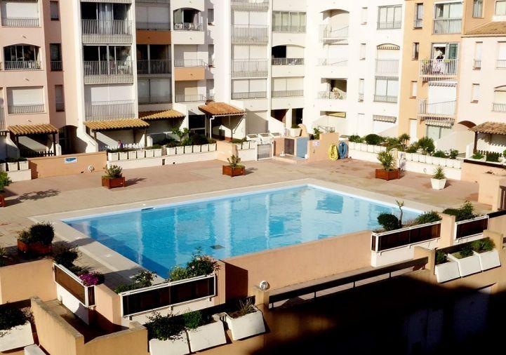 A vendre Appartement en résidence Le Cap D'agde   Réf 34590994 - Le boulevard de l'immobilier