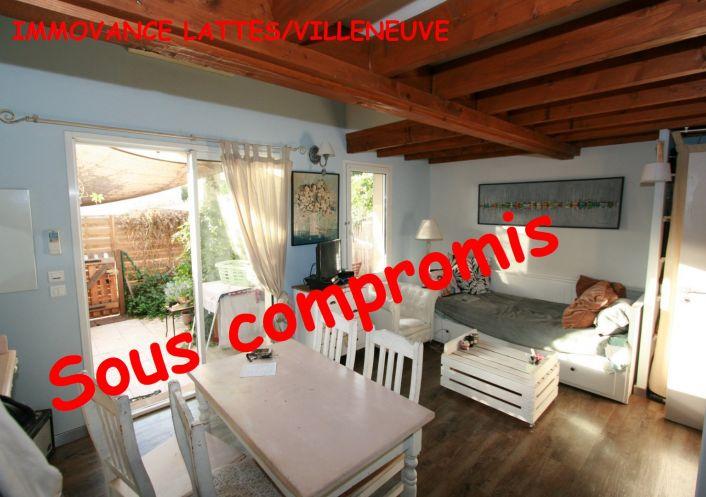 A vendre Appartement Villeneuve Les Maguelone   Réf 3447330867 - Immovance