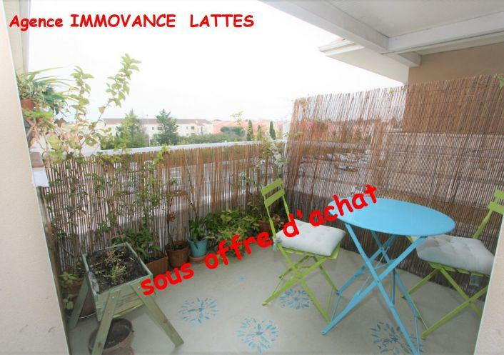 A vendre Appartement Lattes   Réf 3447344994 - Immovance