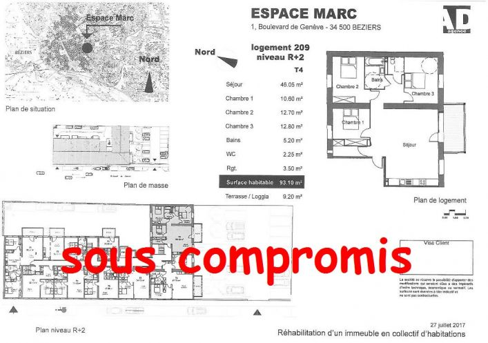 A vendre Beziers 34479502 Pole sud immobilier