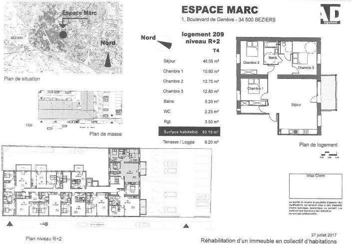 A vendre Beziers 34479504 Pole sud immobilier