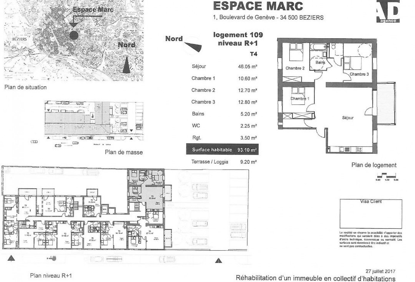 A vendre Beziers 34479505 Pole sud immobilier