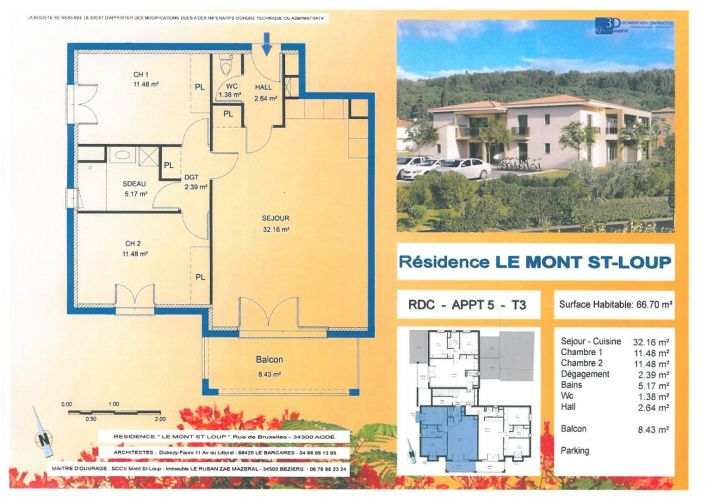 A vendre Agde 34479588 Pole sud immobilier