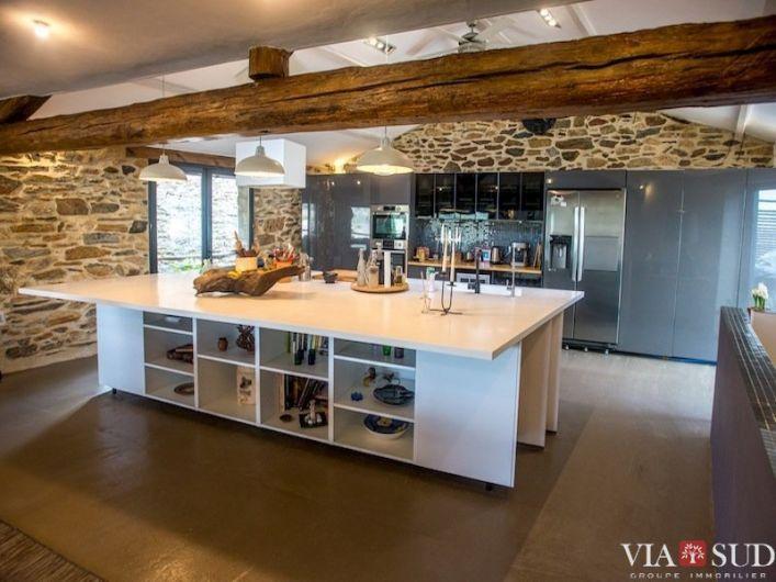 A vendre Maison en pierre Faugeres   R�f 344852496 - Via sud immobilier
