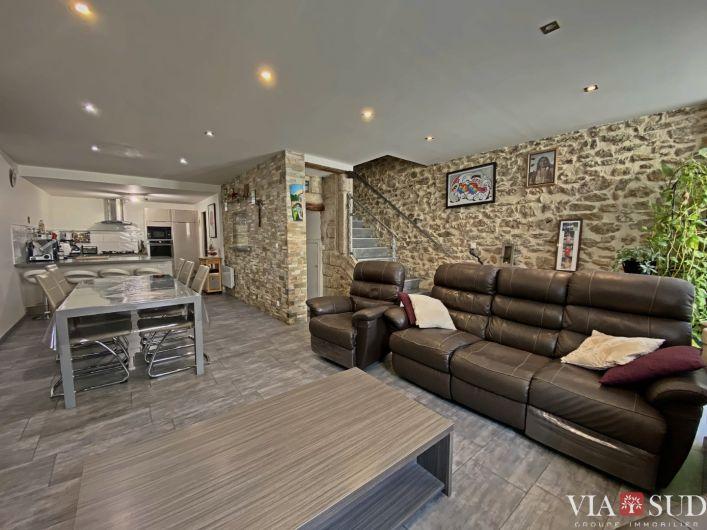 A vendre Maison de village Saint Felix De Lodez | R�f 344852827 - Via sud immobilier