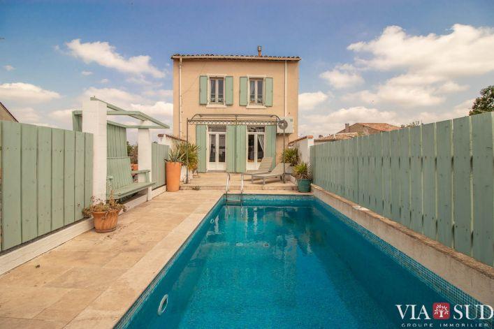A vendre Maison vigneronne Saint Genies De Fontedit | R�f 344852852 - Via sud immobilier