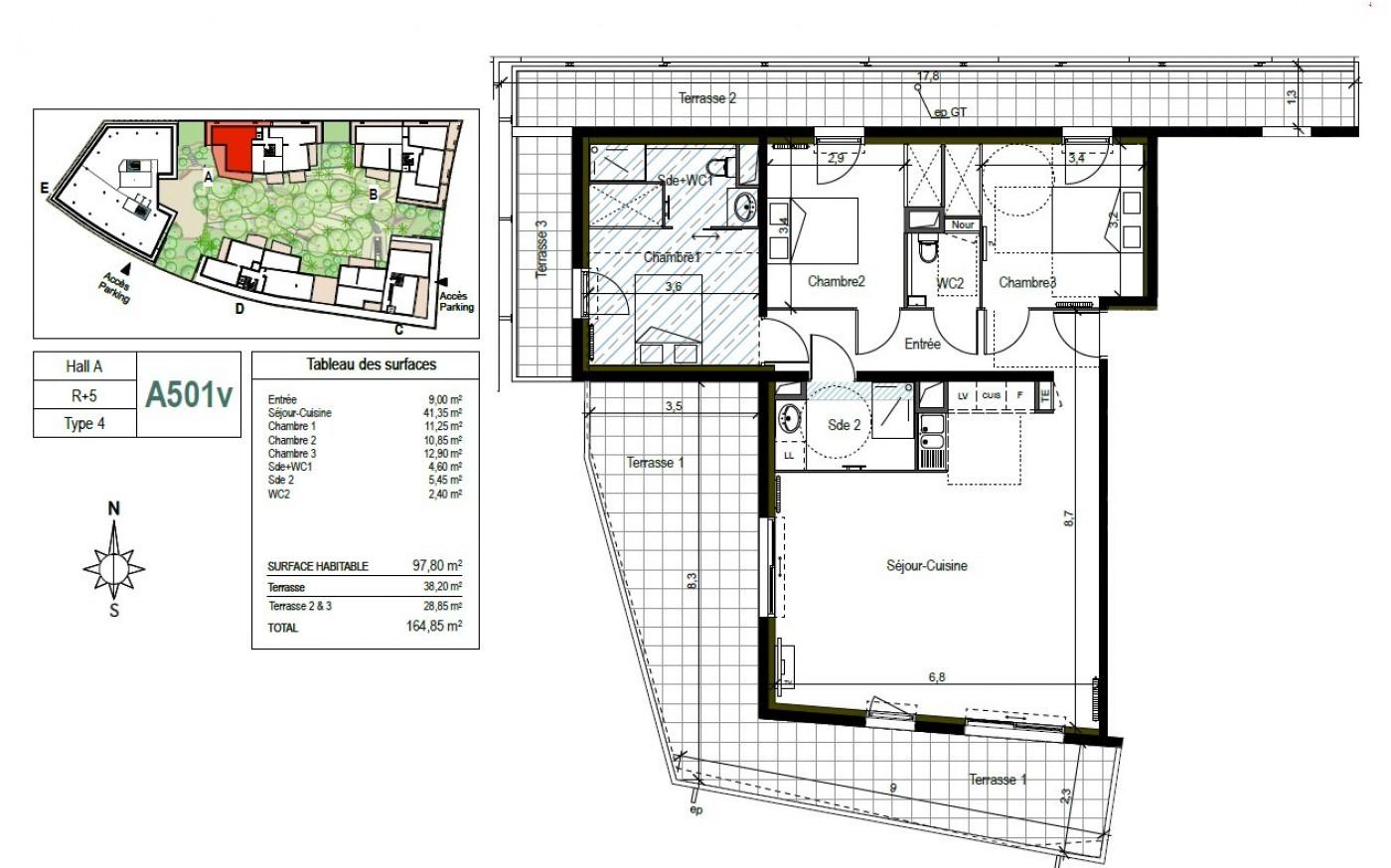 A vendre Castelnau Le Lez 34488395 Ma villa sur le toit