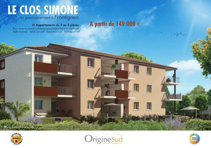 A vendre Frontignan 3448951 Groupe gesim