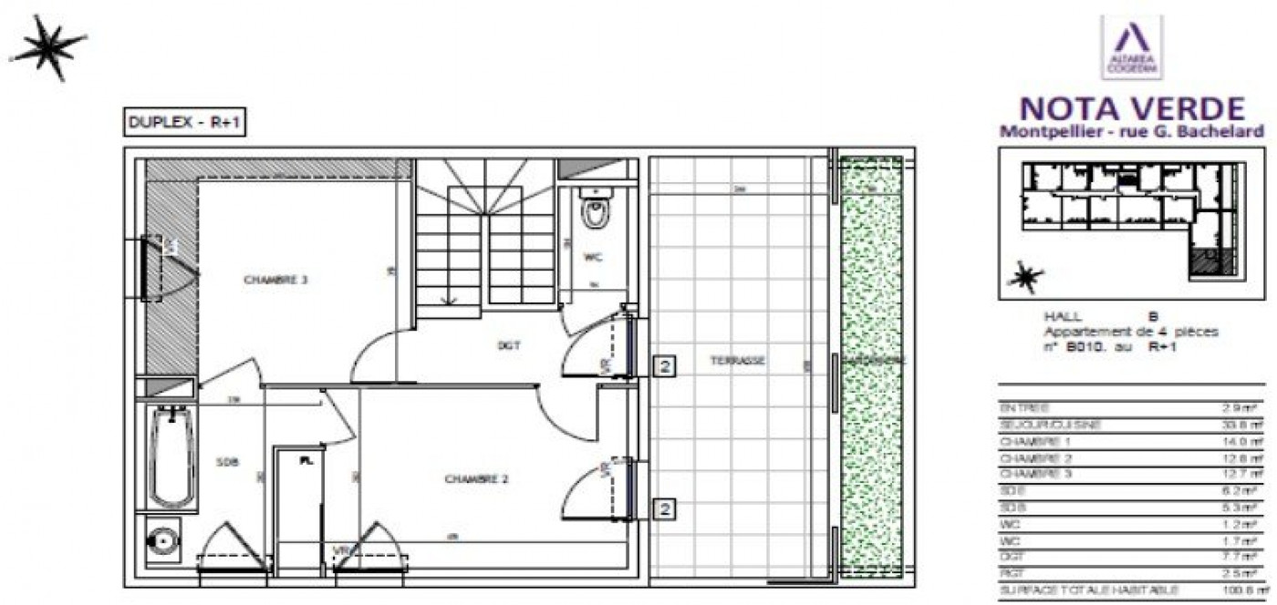 A vendre Montpellier 34505573 Pierre blanche immobilier
