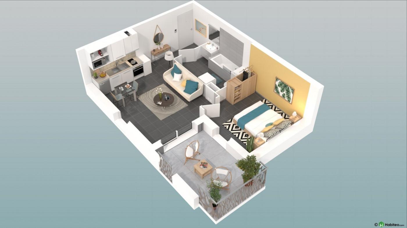 A vendre Nimes 34505619 Pierre blanche immobilier