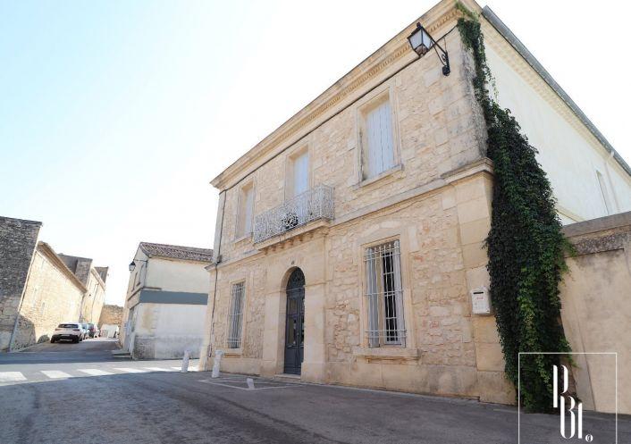 A vendre Maison de village Saint Genies Des Mourgues   R�f 34505878 - Pierre blanche immobilier