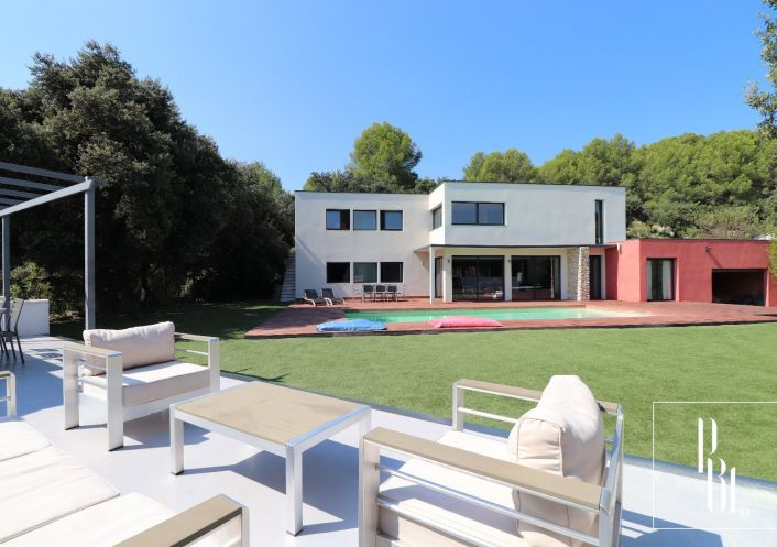 A vendre Villa d'architecte Marguerittes | R�f 34505901 - Pierre blanche immobilier
