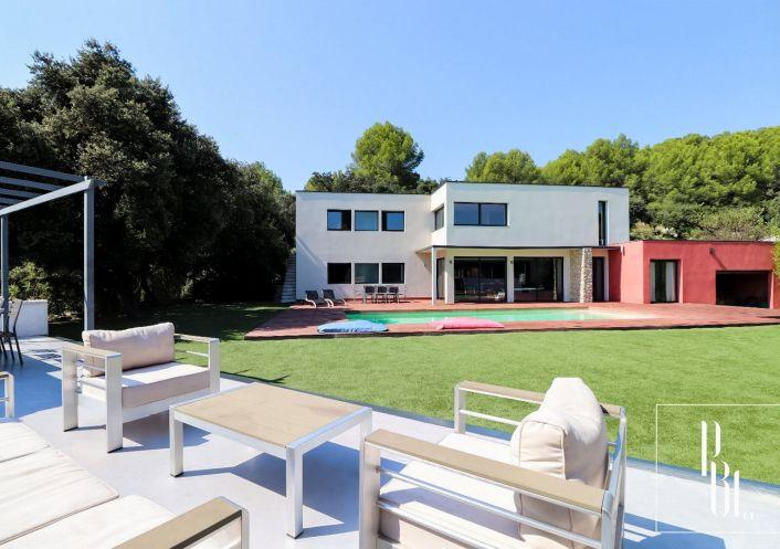 A vendre Villa d'architecte Cabrieres | R�f 34505901 - Pierre blanche immobilier
