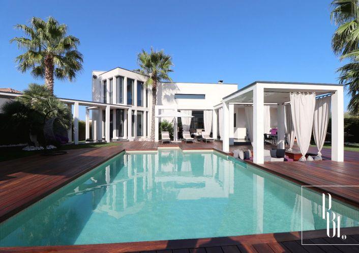 A vendre Villa d'architecte Le Grau D'agde   R�f 34505923 - Pierre blanche immobilier