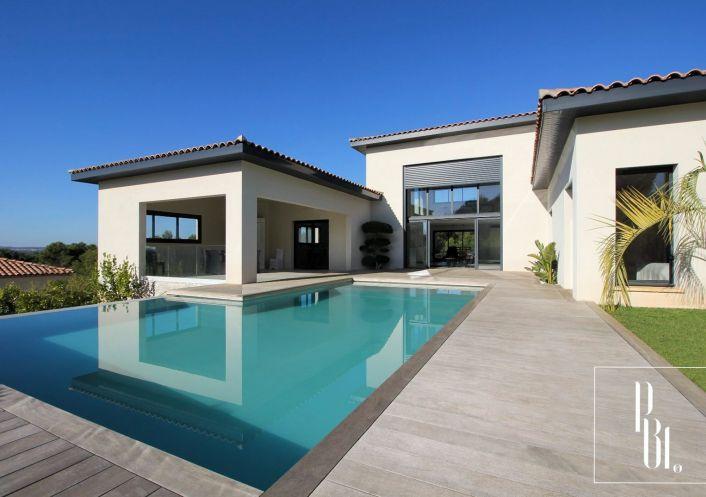 A vendre Villa d'architecte Pezenas   R�f 34505949 - Pierre blanche immobilier