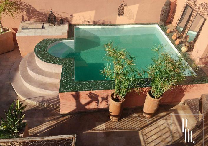A vendre Riad Marrakech | R�f 34505994 - Pierre blanche immobilier
