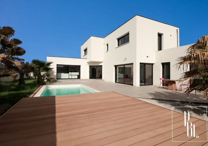 A vendre Villa d'architecte Lignan Sur Orb | R�f 34505998 - Pierre blanche immobilier