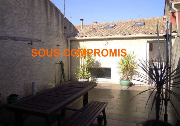 A vendre Maison de village Villeneuve Les Beziers | Réf 3451844 - Cap sud immo