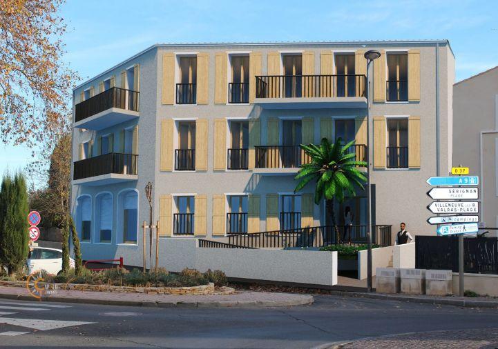 A vendre Appartement neuf Serignan   Réf 34518809 - Cap sud immo