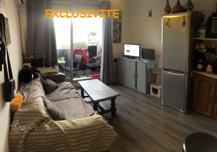 A vendre Studio cabine Valras Plage | Réf 34518819 - Cap sud immo