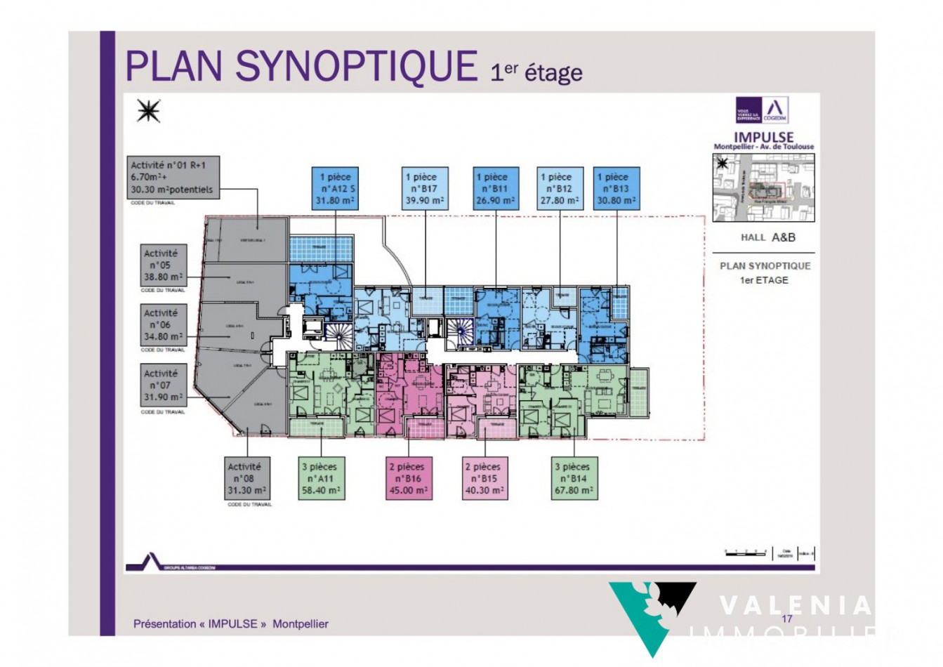 A vendre Montpellier 3453410938 Valenia immobilier
