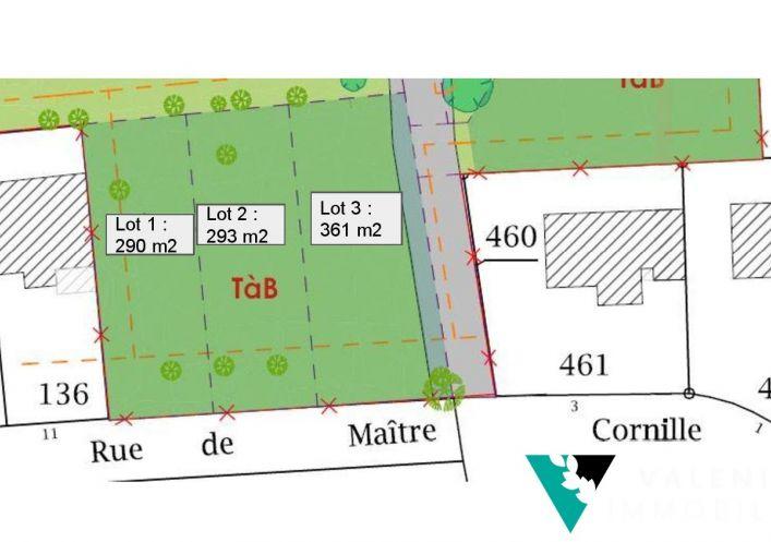 A vendre Terrain constructible Le Pontet   R�f 3453411343 - Valenia immobilier