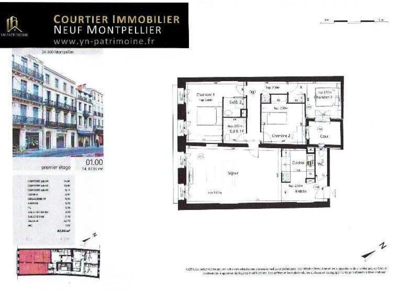 A vendre Montpellier 345359 Yn patrimoine