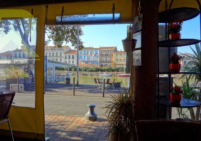 A vendre Café   restaurant Agde | Réf 345514195 - Robert immobilier