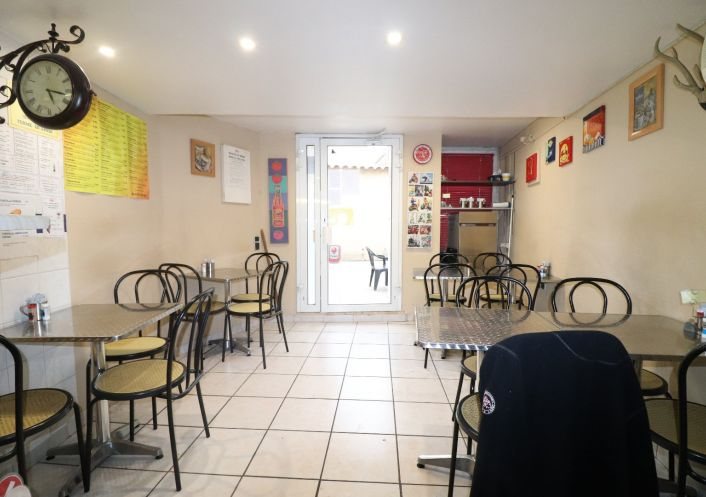 A vendre Pizzeria   snack   sandwicherie   saladerie   fast food Saint Thibery   R�f 34577658 - David immobilier