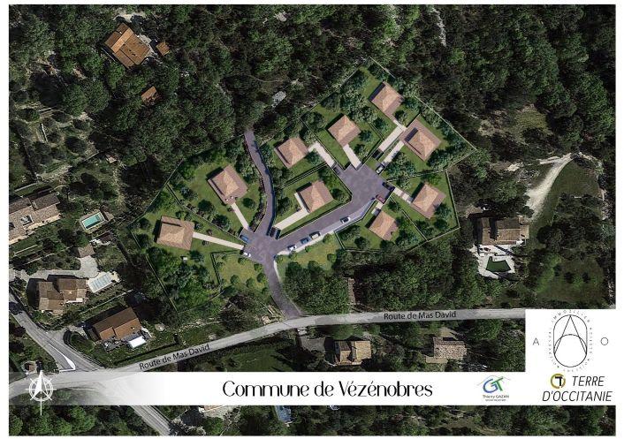 A vendre Terrain Vezenobres   R�f 34579950 - Ao immobilier