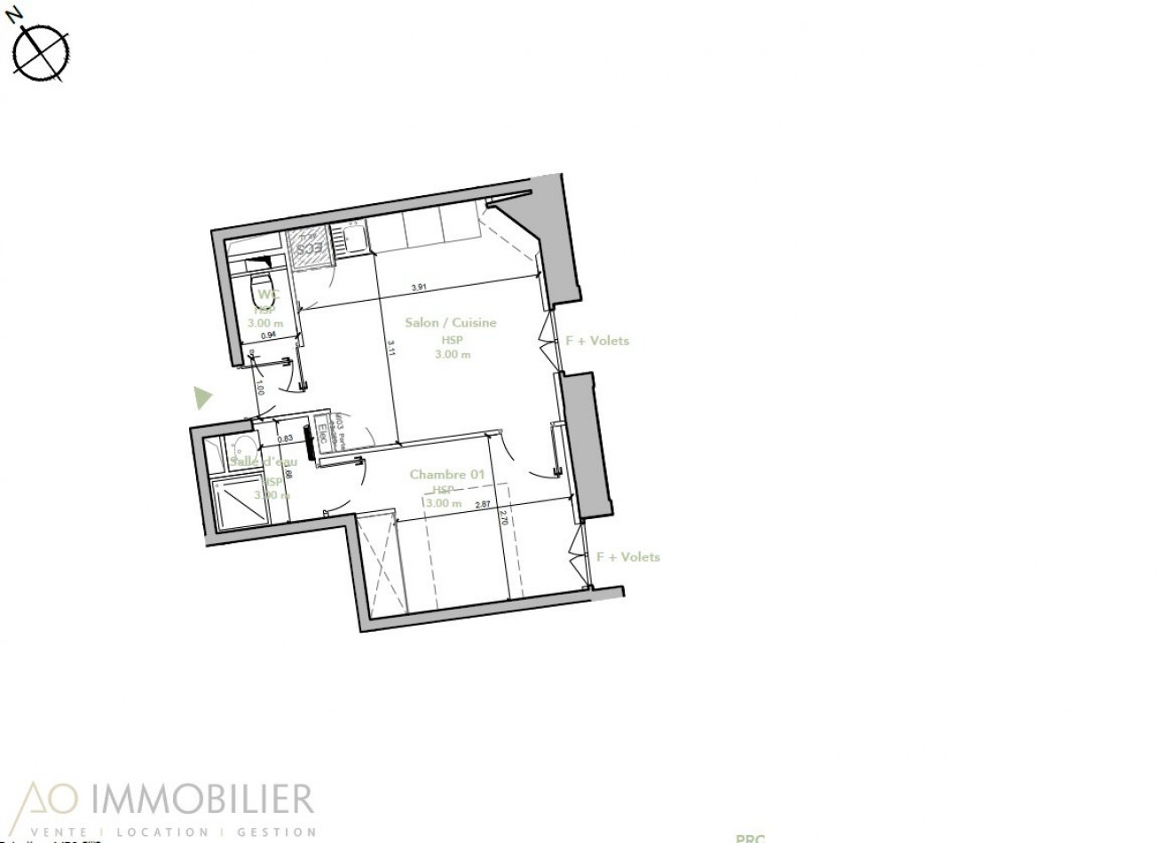 A vendre Montpellier 3457998 Ao immobilier