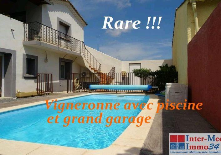 A vendre Villa Florensac   Réf 3458140298 - Inter-med-immo34