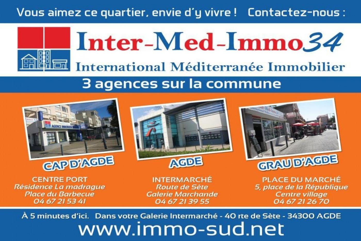 A vendre  Bessan   Réf 3458144252 - Inter-med-immo34