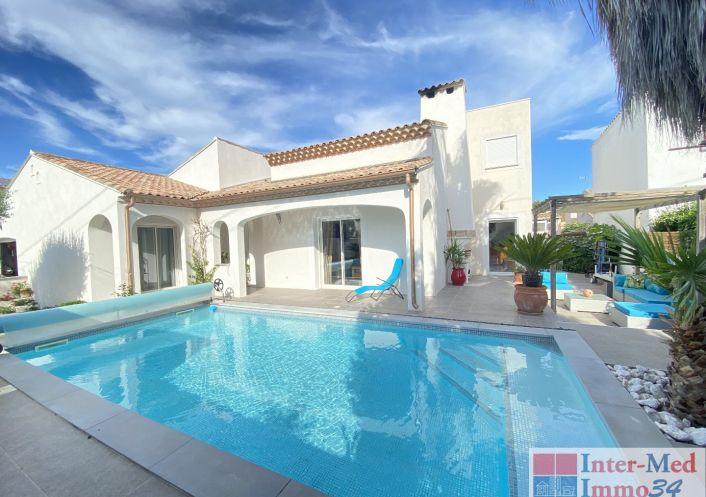 A vendre Villa Le Grau D'agde   R�f 3458344238 - Inter-med-immo34 - prestige