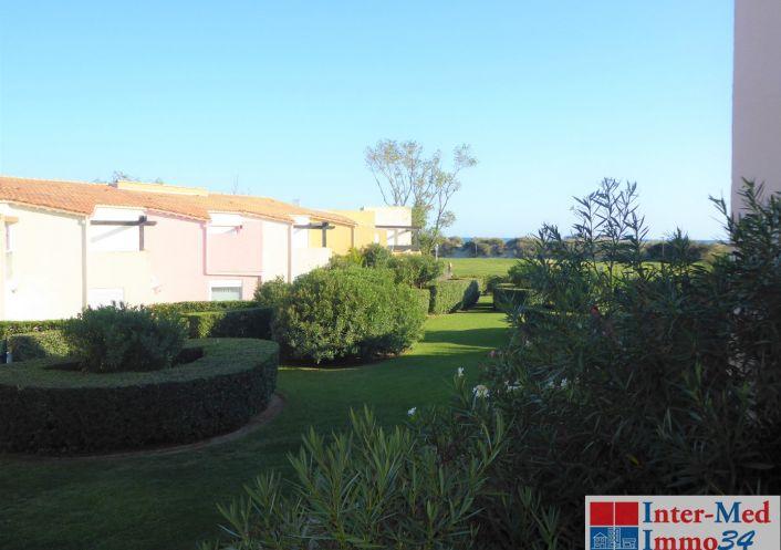 A vendre Appartement Le Cap D'agde   Réf 3458229964 - Inter-med-immo34