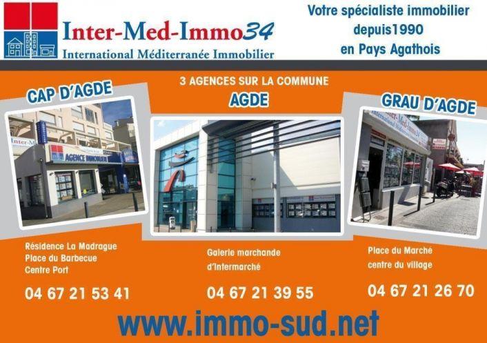 A vendre Le Cap D'agde 3458243345 Inter-med-immo34