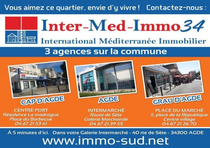 A vendre Le Grau D'agde 3458243560 Inter-med-immo34